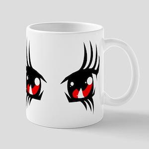 Red anime eyes Mug