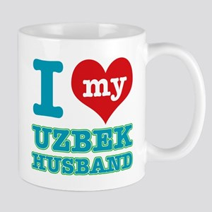 I love my Uzbek husband Mug