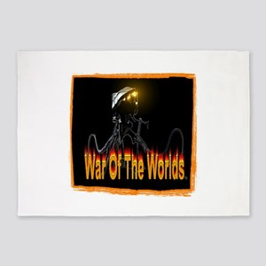 war of the worlds 5'x7'Area Rug
