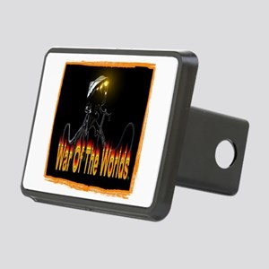 war of the worlds Rectangular Hitch Cover
