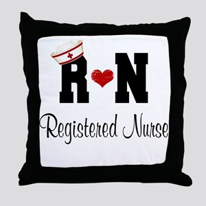 Registered Nurse (RN) Throw Pillow