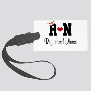 Registered Nurse (RN) Large Luggage Tag