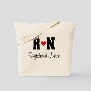 Registered Nurse Rn Tote Bag