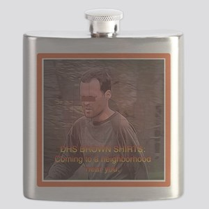 Federal Brownshirts Flask