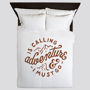 Adventure is Calling Queen Duvet