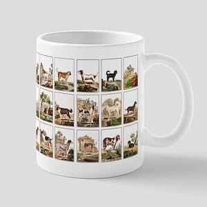 Dog Collection In Vintage Style Mug
