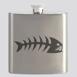 Scary fish Flask