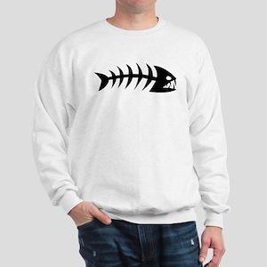 Scary fish Sweatshirt