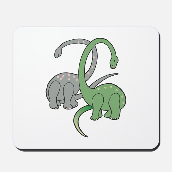 Two Dinosaurs Mousepad