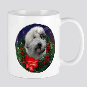 Old English Sheepdog Christmas 11 oz Ceramic Mug
