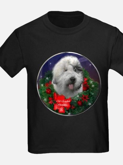 Old English Sheepdog Christmas T