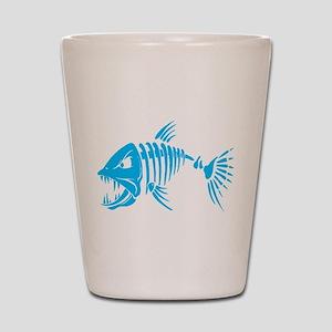 Pirate fish Shot Glass