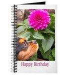Birthday Wishes With Dahlia And Dog Journal