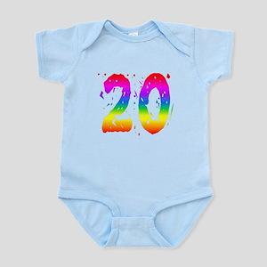 Confetti Rainbow 20 Body Suit