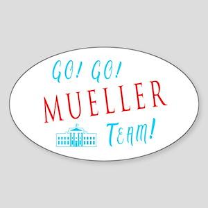 Go Go Mueller Team Sticker