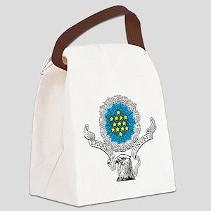 E Pluribus Unum Canvas Lunch Bag