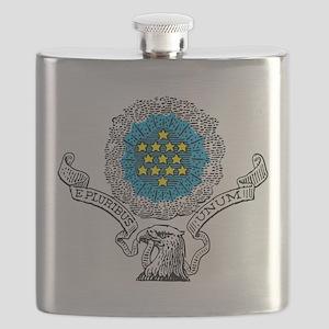 E Pluribus Unum Flask