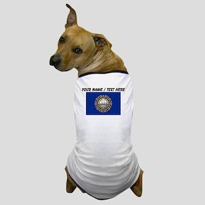 Custom New Hampshire State Flag Dog T-Shirt