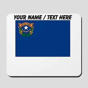 Custom Nevada State Flag Mousepad