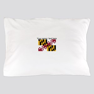 Custom Maryland State Flag Pillow Case