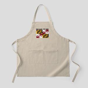 Custom Maryland State Flag Apron