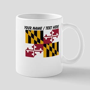 Custom Maryland State Flag Mug