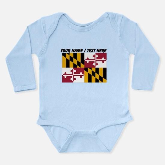 Custom Maryland State Flag Body Suit