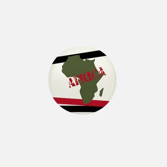 Militant Africa Mini Button