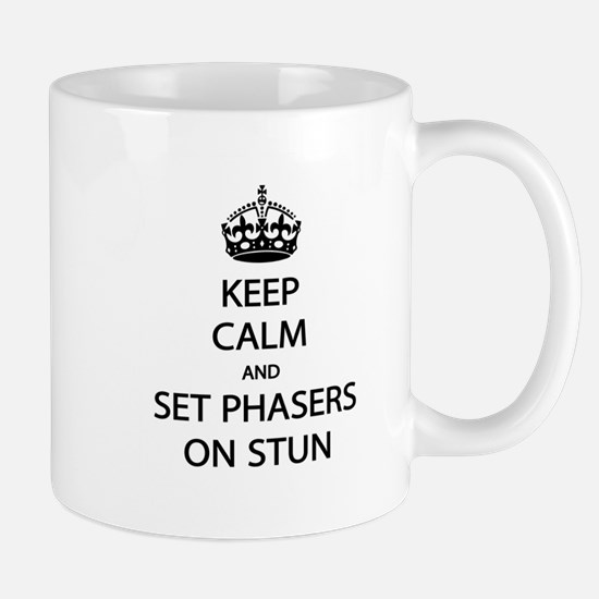 Keep Calm Phaser Stun Mug