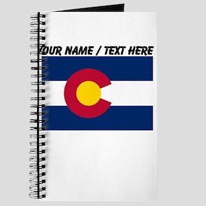 Custom Colorado State Flag Journal