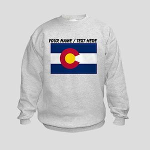 Custom Colorado State Flag Sweatshirt