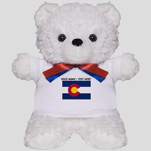 Custom Colorado State Flag Teddy Bear