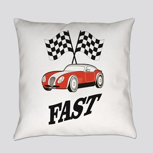 fast and faster Everyday Pillow