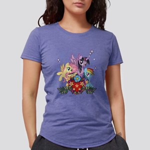 MLP Heart And Sparkles Womens Tri-blend T-Shirt