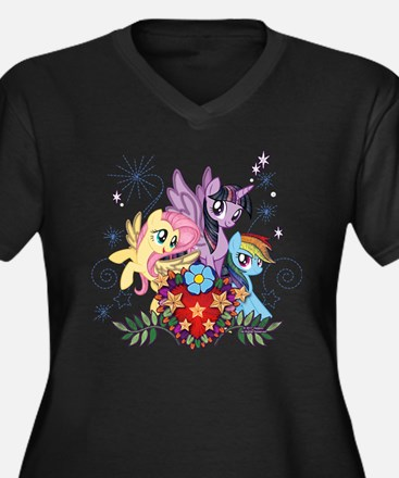 MLP Heart And Sparkles Plus Size T-Shirt