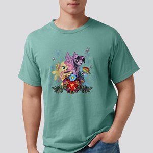 MLP Heart And Sparkles Mens Comfort Colors Shirt