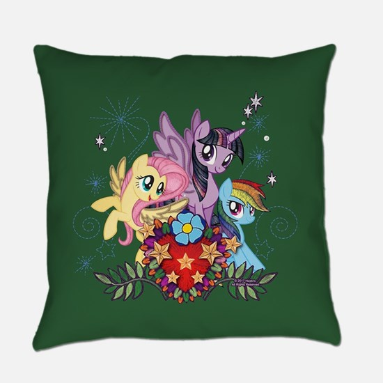 MLP Heart And Sparkles Everyday Pillow