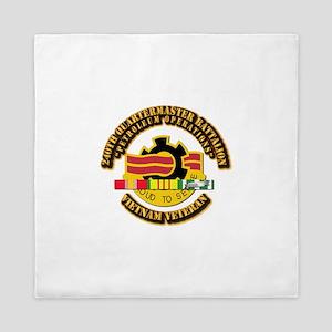 Army - 240th Quartermaster Battalion w/ SVC Ribbon