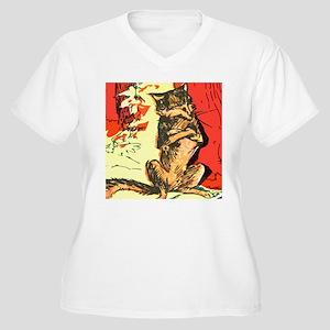 Grumpy Mr Fox Plus Size T-Shirt