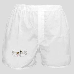 Playful Fox Terrier Boxer Shorts