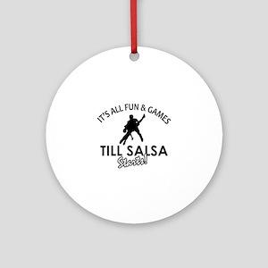 Salsa gear and merchandise Ornament (Round)