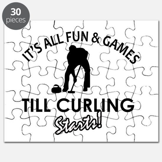 Curling gear and merchandise Puzzle