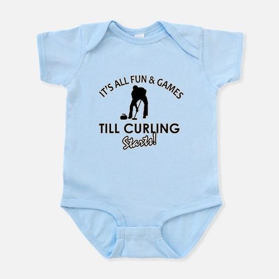 Curling gear and merchandise Infant Bodysuit