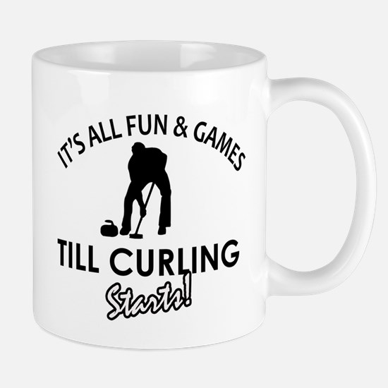 Curling gear and merchandise Mug