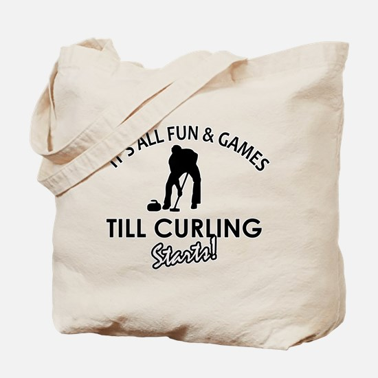 Curling gear and merchandise Tote Bag