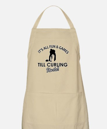 Curling gear and merchandise Apron