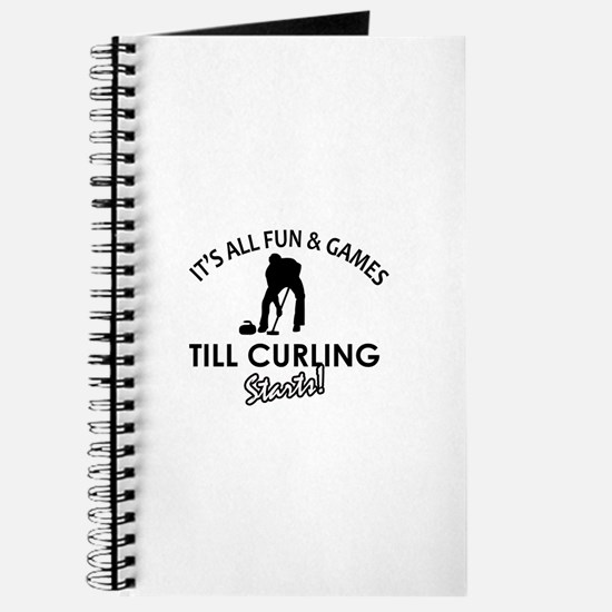Curling gear and merchandise Journal
