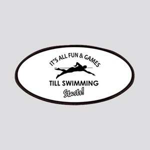 Swimming gear and merchandise Patches