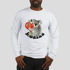 I Love Koalas Long Sleeve T-Shirt