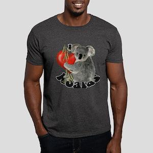 I Love Koalas Dark T-Shirt